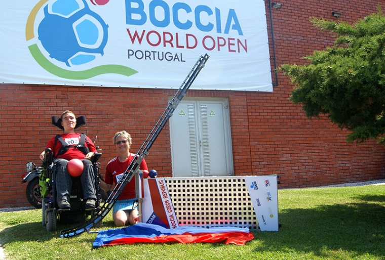 Interview with Adam Peška, a player of the Czech Boccia Representation